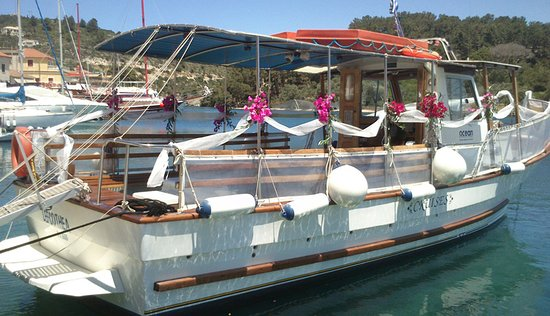 Chartered boat trips