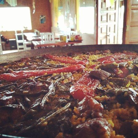 Villarmentero de Campos, Hiszpania: Todos los sábados paella valenciana 😊