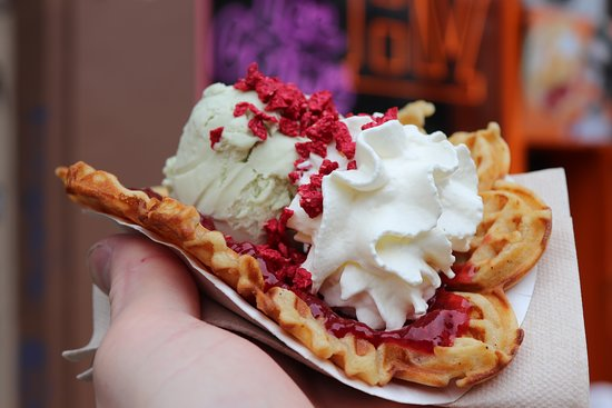 Ice Cream & Vafler