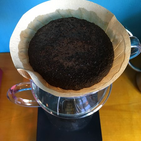 Paper filter coffee