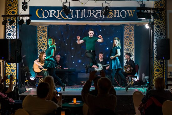 Cobh, Ireland: Dancers Shannen Kenny, Michael Cahill (choreographer) and Shannon Burke