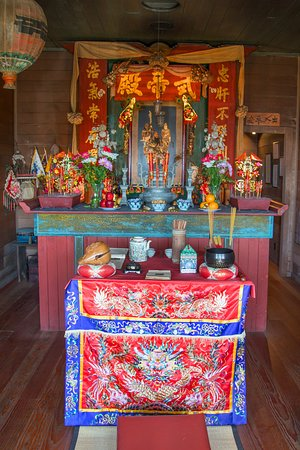 The Temple of Kwan Tai - the Altar Compliments of Jeff Kan Lee