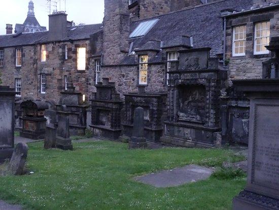 Le cimetière Greyfiars