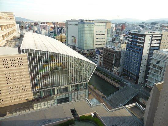 Hotel Okura Fukuoka: view from room