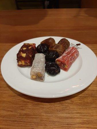 Ramadan's iftar buffet dishes