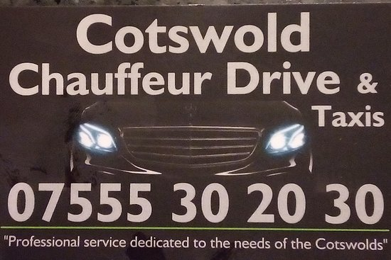 Taxis & Tours in the Cotswolds