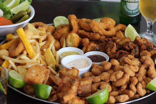 Brusque, SC: Porções de peixes!