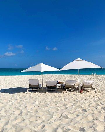 Grace Bay Club: The beach at Grace Bay.