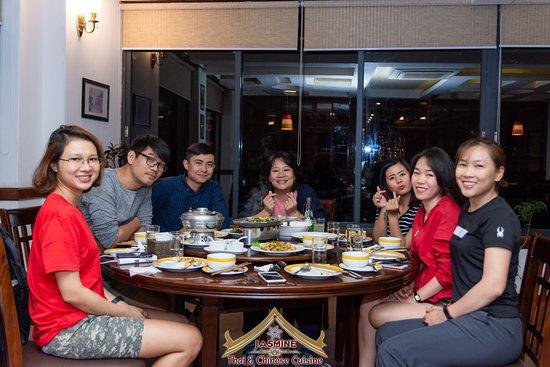 Jasmine Thai & Chinese Cuisine: Chinese Hall