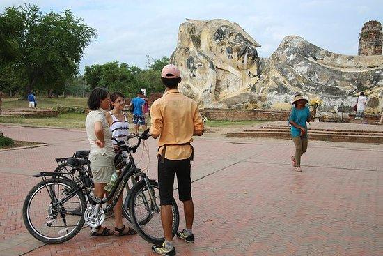 Colores de Ayutthaya en bicicleta de...