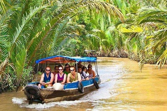 来自Phu My Cruise Harbour的湄公河三角洲