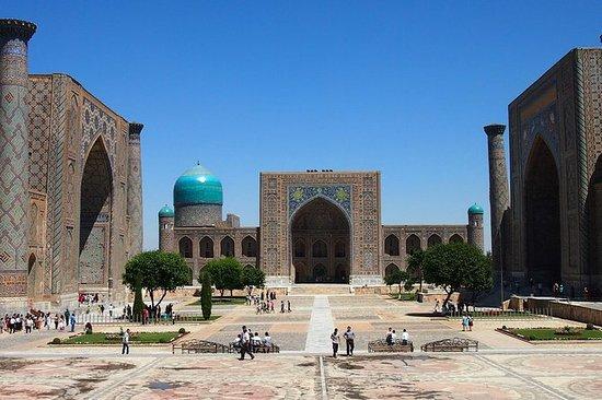 Samarkand byhistorie, arkitektur og...