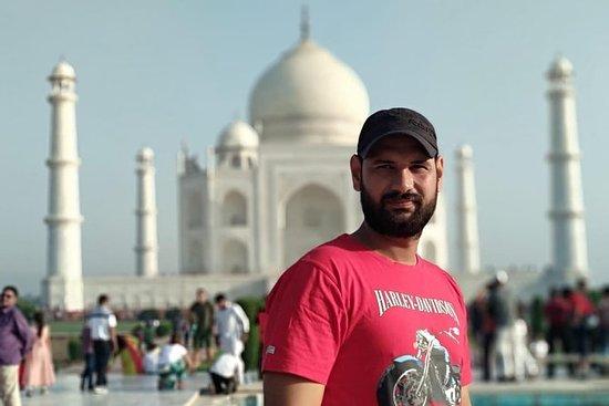 Delhi Agra Delhi Sameday tur med privat...