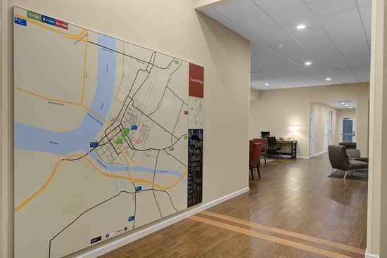 TownePlace Suites by Marriott Parkersburg: Map
