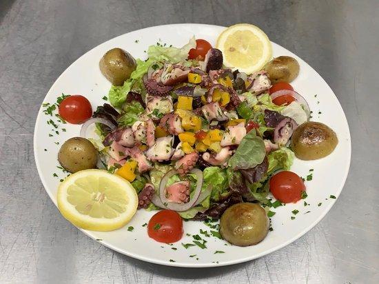 Le Sporting: Salade de poulpe