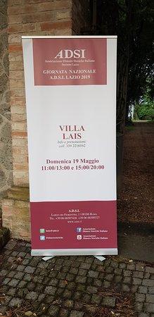 Sipicciano, Włochy: Villa Lais è una dimora storica; pronta per le visite guidate nelle giornate del FAI