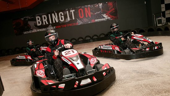 TeamSport Indoor Go Karting Stoke-on-Trent