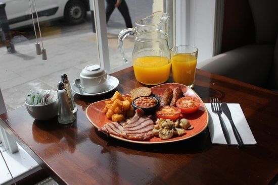 Breakfast available every morning until 12noon