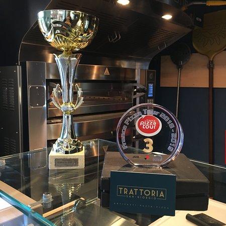 Les trophées du Chef (10ème place au championnat de France Pizza 2017)