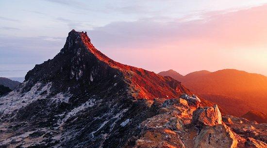 Berastagi, Indonesia: Sunrise on top Mount Sibayak Pic: Yosh Ginsu