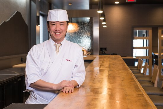 Head Chef Masashi Katsuki  With over 20 years of experience working in kitchens across Japan, Chef Masashi Katsuki brings his passion and expertise in Japanese cuisine to Canada's smallest province.