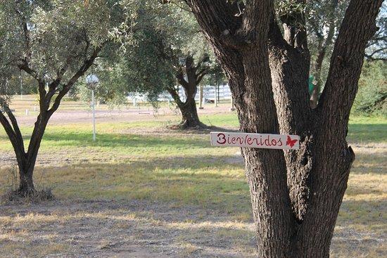 Posada de Campo Pura Vida: La entrada a la Posada