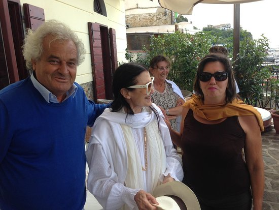 Ristorante Il Cormorano: Giovanni Ruocco, Gabriella Galluzzo e Carla Fracci
