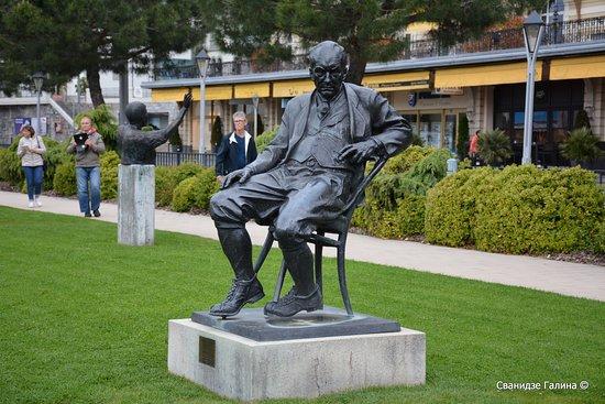 Monument to Vladimir Nabokov
