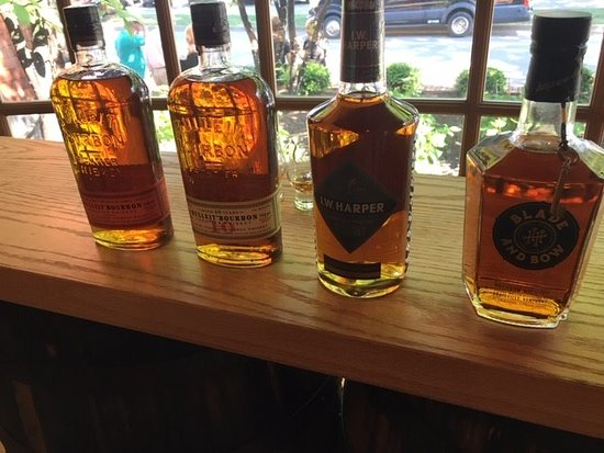 Kentucky Bourbon Boys: Stitzel-Weller tasting