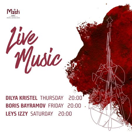 Masti Baku Indian & Lebanese Cuisine: LIVE MUSIC