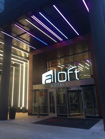 Aloft mag mile Chicago hotel fantastico nel cuore della città