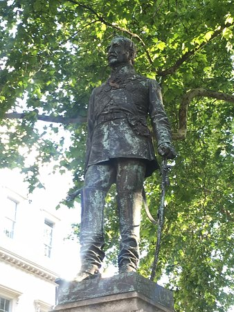 Field Marshal John Fox Burgoyne Statue