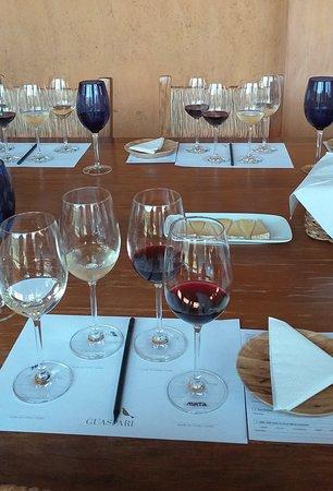 Degustação de vinhos Vinícola Guaspari