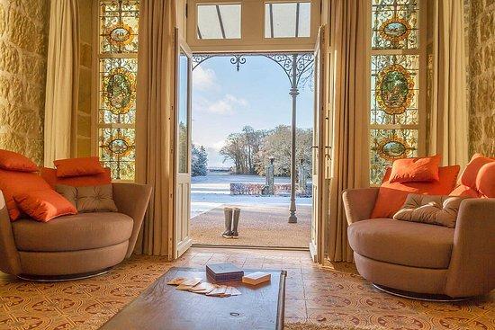 Damblain, France : Little living room