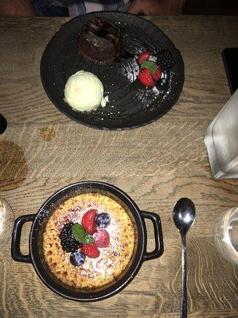 The Olive Kitchen & Bar: Creme Brûlée was divine