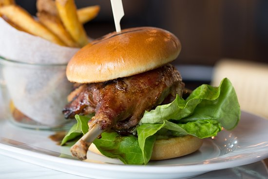 Duck confit Burger, ..that´s one of our favorites. It`s sure can be yours too.