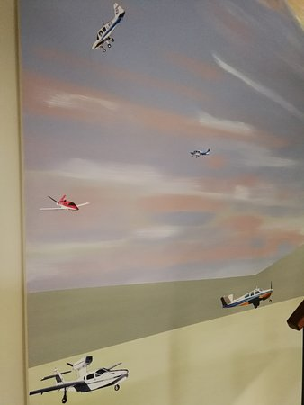 small part of giant two storey mural