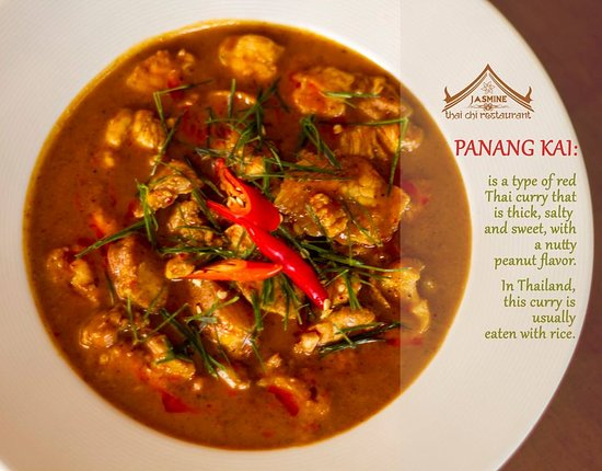 Jasmine Thai & Chinese Cuisine: Panang Kai
