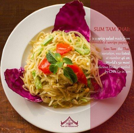 Jasmine Thai & Chinese Cuisine: Sum Tam Thai