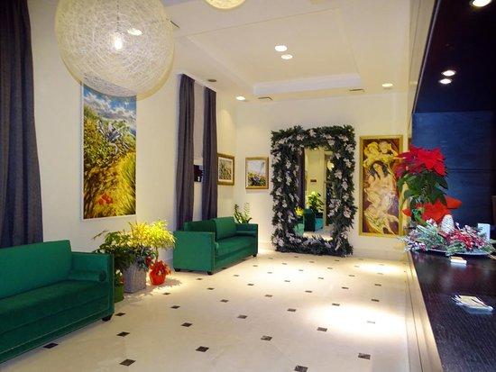 La nostra Hall nel periodo natalizio