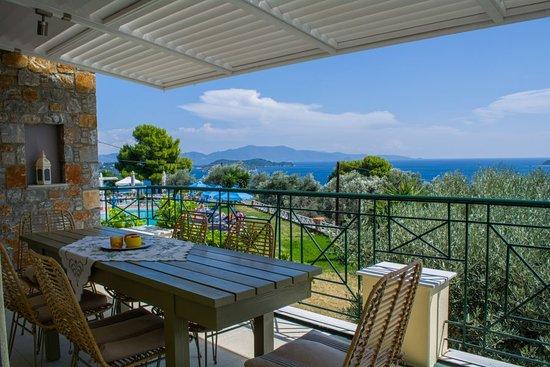 Balcony - Azzurro Skiathos Photo