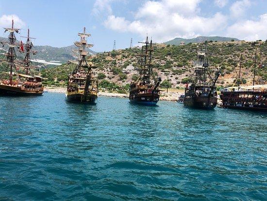 """Яхт-тур """"Викинг"""" в Алании"""