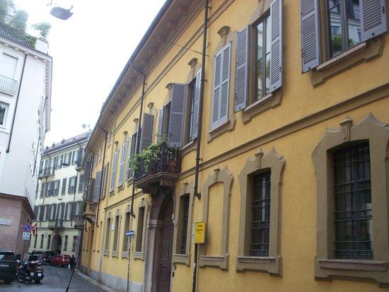 Palazzo Belgioioso di via Morigi