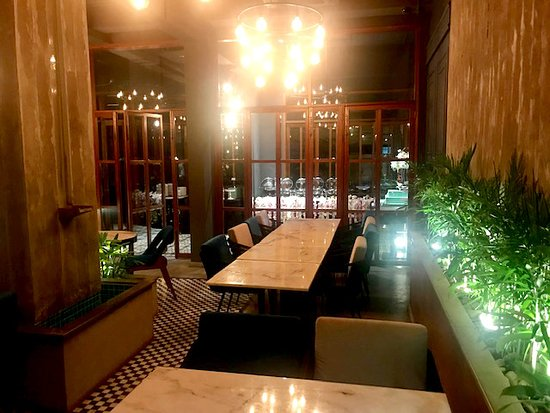 Interior is warm and friendly - Picture of Thyme, Karachi - Tripadvisor