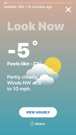 Isabella, Minnesota: Jan. 2019