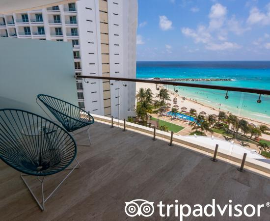 The Altitude Suite Ocean Front at the Reflect Cancun Resort & Spa