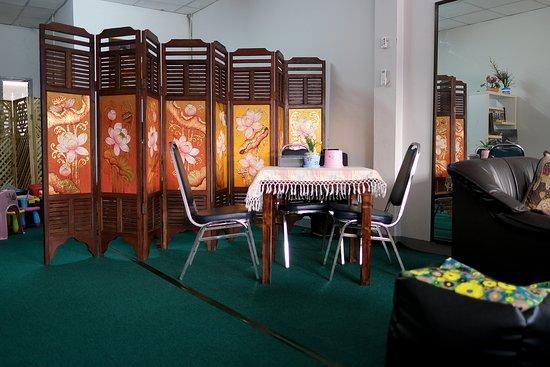 Mae Hia, תאילנד: Air con room