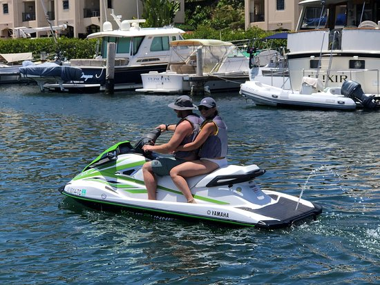 Come Ride With Us and  Navigate the beautiful waters of St Thomas under your own terms.