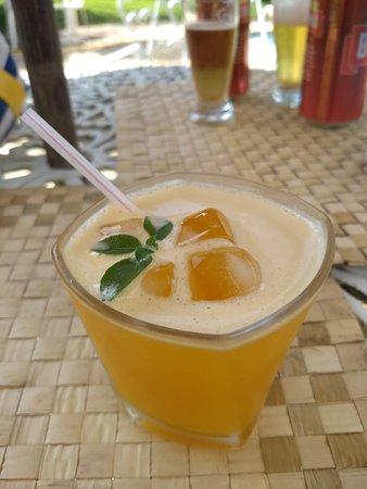 Santa Barbara do Tugurio, MG: Drink Maracujá com manjericão