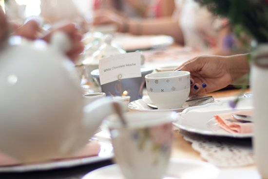 There's nothing like celebrating your Bridal Shower with lovely Tea and loving family and friends.